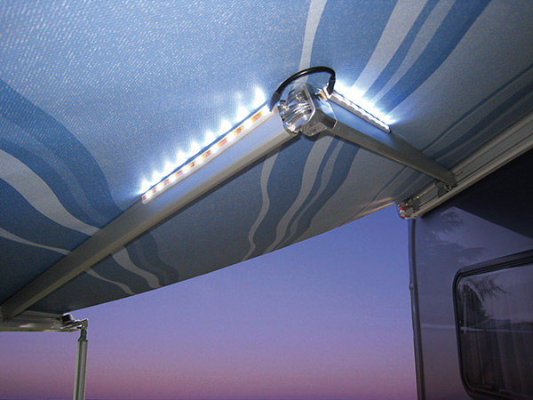 Awning Arms Led FIAMMA per tendalini