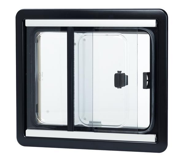 Maggiore vetro interna finestra scorrevole for Schiebefenster horizontal