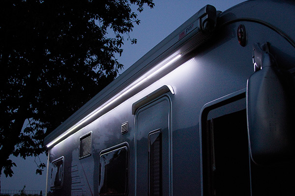 Led Awning Case FIAMMA - tendalini ad arganello