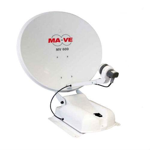 Antenna satellitare MA-VE: nuove antenne satellitare made in Mecatronic, a puntamento automatico.
